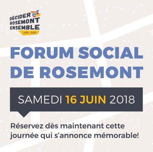 Forum social de Rosemont